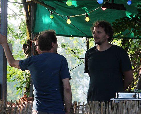 Markus H. Rosenmüller hilft mit auf dem Berghofer Filmfest