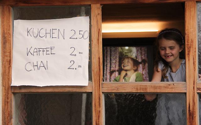 Kinder auf Berghofer Filmfest
